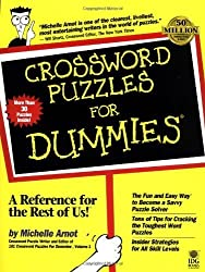 Crossword Puzzles For Dummies (For Dummies (Computers)) by Michelle Arnot (1998-02-11)