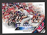 Corey Kluber autographed signed 2016 Topps auto card Cleveland Indians - - (Near Mint Condition)