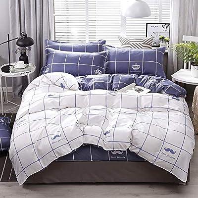 WAWA Suave, cómodo y Elegante, Lavable,El edredón de sábanas de ...