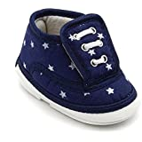 CHIU Chu-Chu Blue Shoes with Double Strap for 9-15 Months Baby Boys & Baby Girls