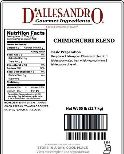 Chimichurri Blend, 50 Pound Box