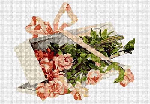 (Pepita Box Roses Needlepoint Kit)