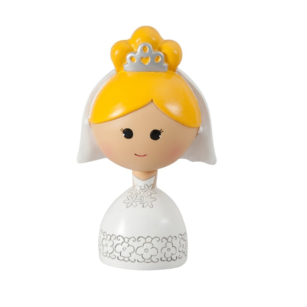 Ivy Lane Design A91435 Kokeshi Bride, 4.5'', Fair/Blonde
