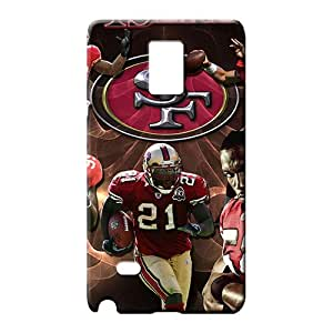 samsung note 4 case Super Strong series mobile phone skins san francisco 49ers nfl football