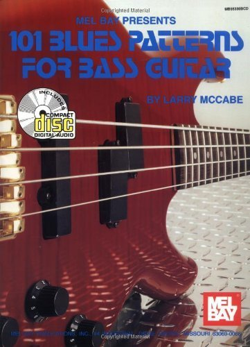 101 Blues Patterns for Bass Guitar by Larry McCabe (1996-08-02)