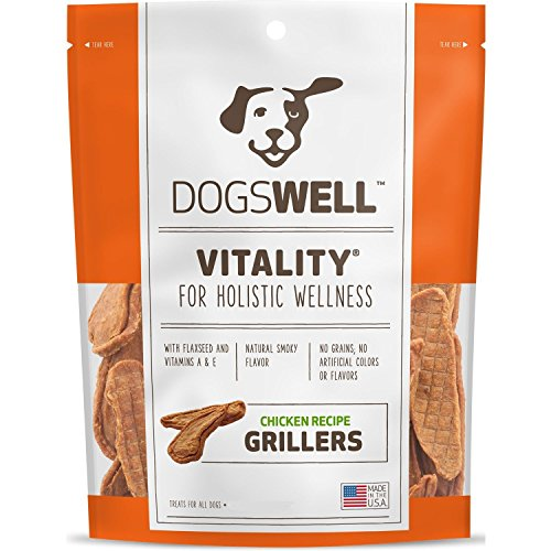 Dogswell Vitality Chicken Recipe Grillers 15-Oz Usa Made (Best Rated Chicken Breast Recipes)