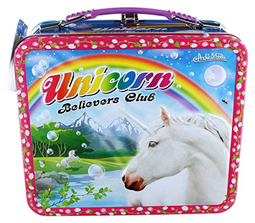 Unicorn Metal Lunch Box -