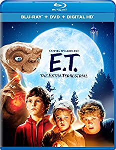 Cover Image for 'E.T. The Extra-Terrestrial [Blu-ray + DVD + Digital HD]'