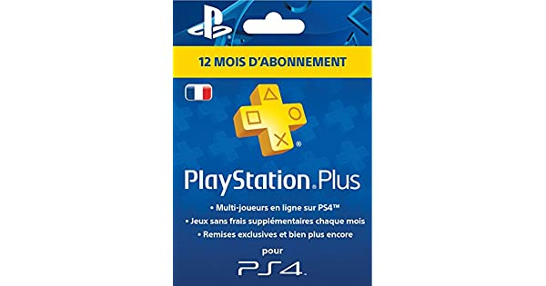 Playstation Plus Card Hang - Abonnement 12 Mois [Importación ...