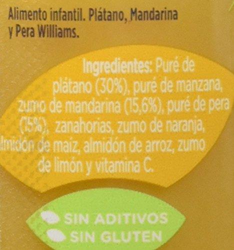 Hero Baby Natur Tarrito de Platano, Mandarina y Pera Williams. a Partir de 4 Meses. sin Gluten, sin Aditivos - 235 g: Amazon.es: Amazon Pantry