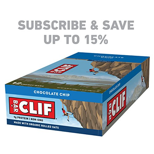 Large Product Image of CLIF BAR - Energy Bar - Chocolate Chip - 2.4 Ounce Protein Bar, 12 Count