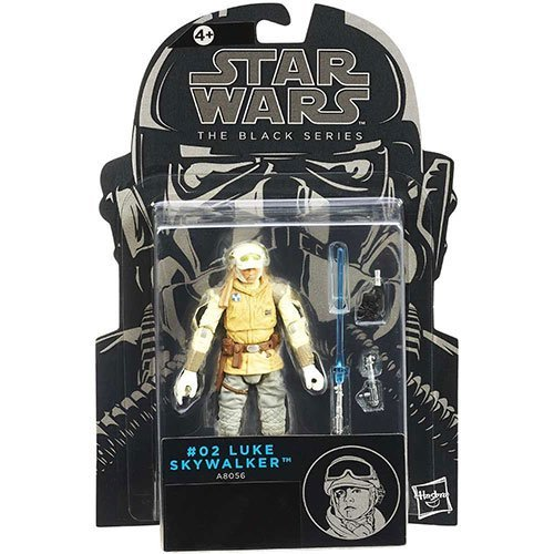 Star Wars Black Series Wave 7 Wampa Attack Luke Skywalker 3.75