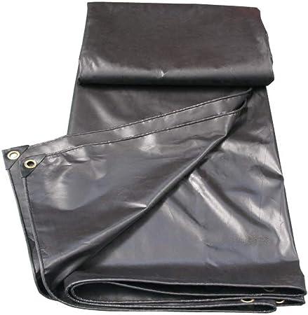 Fundas para Muebles De Jardin Capa de plástico Protector Solar de Lona Protectora de Lona Impermeable Impermeable Negra PVC (Size : 6X8M): Amazon.es: Hogar