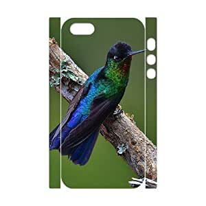 ALICASE Diy Customized Case Hummingbird 3D Case for iPhone 5,5S [Pattern-2]