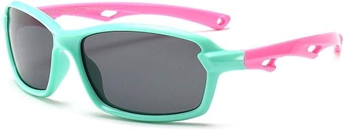 Kinder Sonnenbrille polarisierend 100/% UV Schutz Jungen Mädchen flexibel