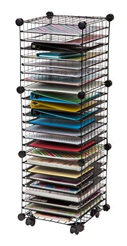 Scrapbooking Storage Iris Scrapbook Organizer Cart 762016460895 Ebay