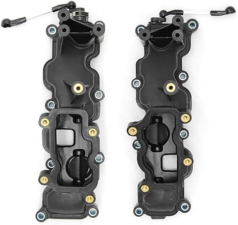 RASHION Kit de r/éparation de volet de Tourbillon de Tubulure dadmission pour VW 2.7 3.0 TDI A4 5//6//8 Q7 Touareg 059198212,0591297,0,012129712 12 pcs