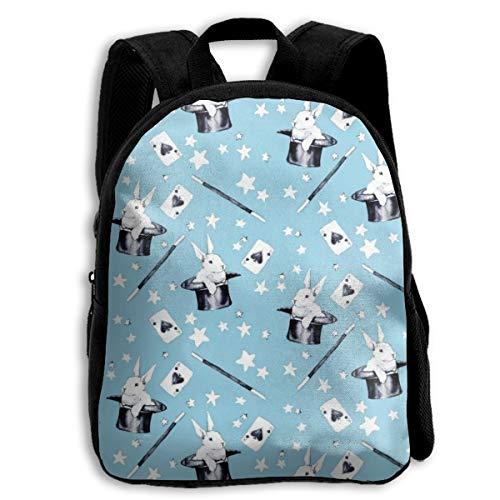 Rabbit Hocus Pocus School Backpacks For Kids 13