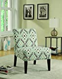 Cheap Coaster Home Furnishings Upholstered Accent Chair Multi-Color and Espresso