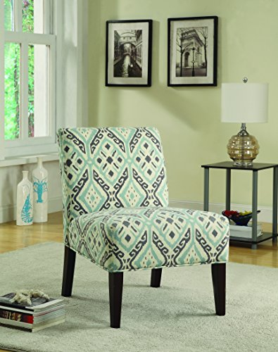 expresso accent chair - 1