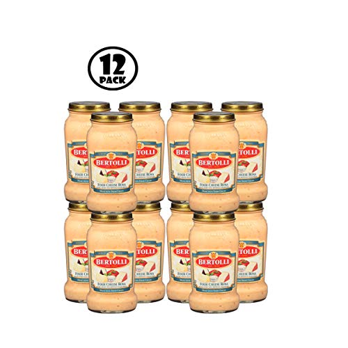 (Pack of 12) Bertolli Four Cheese Rosa Pasta Sauce 15 oz.