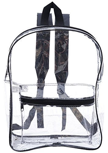 All Clear PVC Backpack by Ensign Peak Black