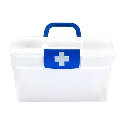 DaFei La Caja de Almacenamiento médica con la Tapa, pequeña Mano ...