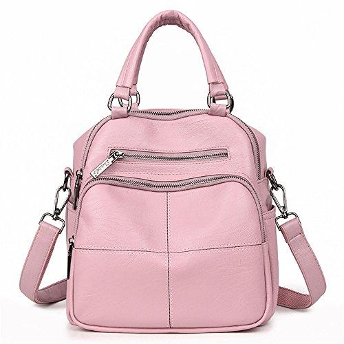 Tres Bolsa Moda Hombro GWQGZ Viajes Pink Con Nueva Silvestres Bolsa Hombro Gules De Señora qwn00TatE