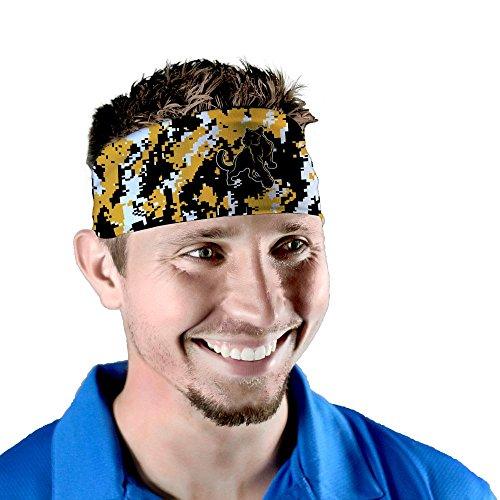 Adelphi University Panthers Digicamo Headband