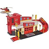 Dickie -Spielzeug 203099623 - Stazione dei Pompieri, di Sam Il Pompiere
