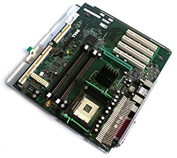 Dell Optiplex GX270 Small Mini-Tower (SMT) XF824 Motherboard Mainboard Systemboard With Tray, Compatible Dell Part Numbers: DG284, U1325, H1487, K5786, H1290, Y1052, FG015, FG022