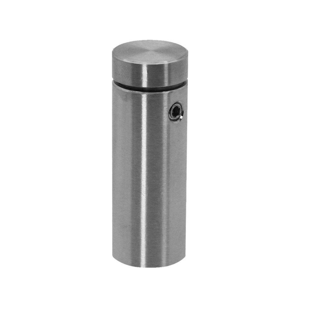 Modell:6 St/ück 1.6 cm x 4 cm Abstandshalter Schilderbefestigung Schraubbar Edelstahl Wandabstandshalter Rund Glashalter /Ø1,6cm f/ür Acrylglas Schilder