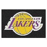 Fanmats NBA Los Angeles Lakers Nylon Face Starter Rug