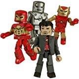 SDCC 2008 Exclusive Iron Man Through The Ages Box Set by Diamond