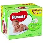 Huggies Natural Care P10 - Toallitas para bebé, 560 unidades