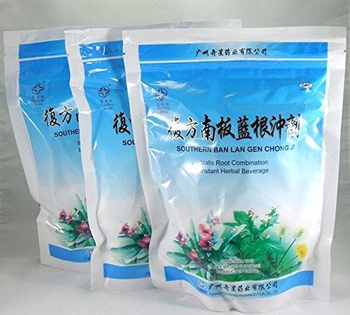 3 Pack! Ban Lan Gen Chong Ji, Instant Herbal Beverage, Tea, Drink, 3 x 20 - Ban Hot