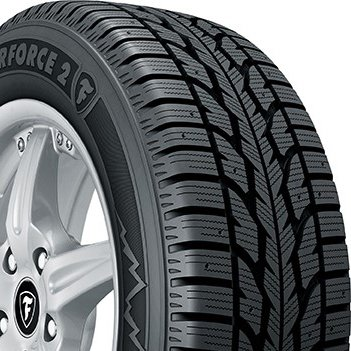 Firestone Winterforce 2 Snow Radial Tire-225/55R17 97S