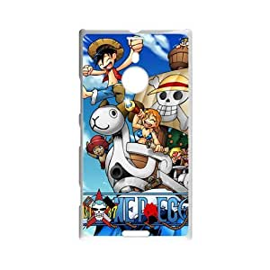 Japanese Anime One Piece Design Skin Hard Back Custom Case for Nokia Lumia 1520