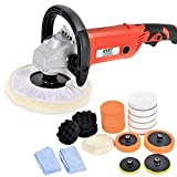 "Best Polisher Kits - Goplus 7"" Electric Car Polisher 6 Variable Speed Review"