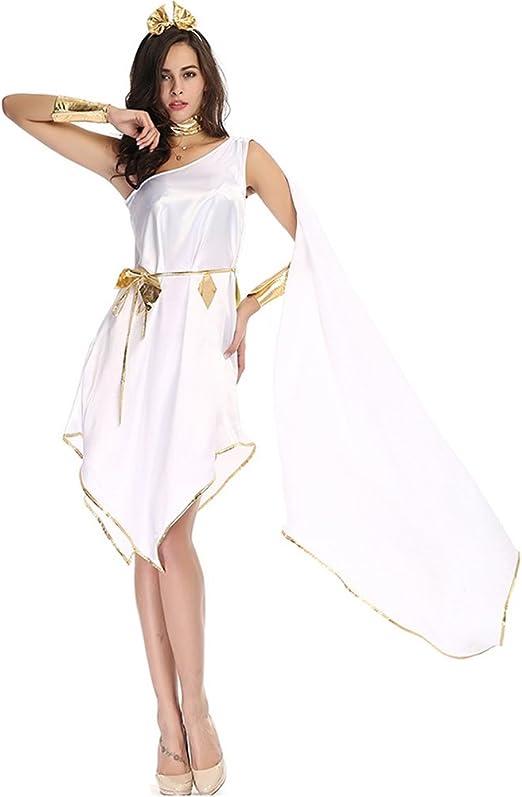 ViewHuge - Disfraz de Diosa Griega para Mujer, Vestido Largo e ...