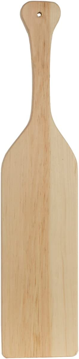 Sorority 4 Pack 4 Pack Walnut Hollow Unfinished Pine Wood Greek Paddles for Arts Crafts Fraternity /& Home Decorating,