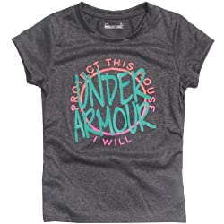Under Armour Little Girls' Ua Protect This House Tee Toddler
