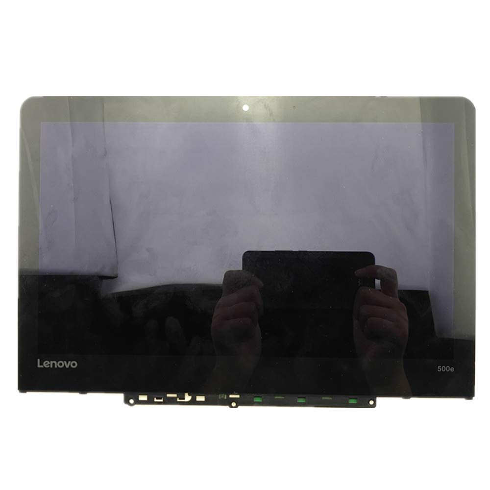 11.6'' HD 1366x768 IPS LCD Panel Replacement LED Touch Screen Display with Bezel Frame Assembly for Lenovo 500e Chromebook Type 81ES FRU: 5D10Q79736