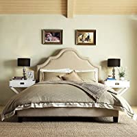 Home Creek Marseille Upholstered Platform Bed
