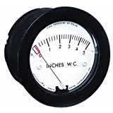 "Dwyer Minihelic II Series 2-5000 Differential Pressure Gauge, Range 0-0.5""WC"