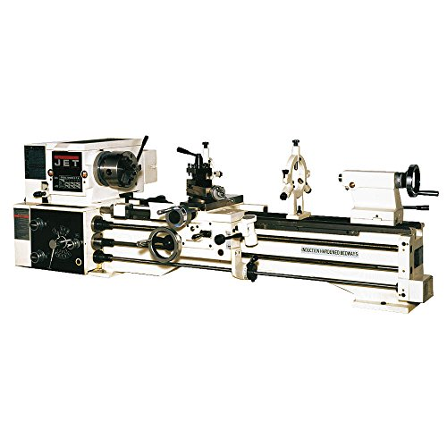 Jet 321360A BDB-1340A 13-Inch Swing by 40-Inch between Centers 230-Volt 1 Phase Belt Drive Bench Metalworking Lathe