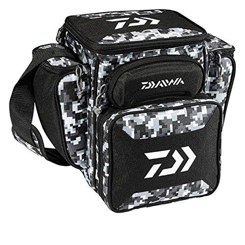 Daiwa DTTB60 DVec Tactical Med Soft Sided Tackle Box, Tactical Grey, - Sunglasses Daiwa