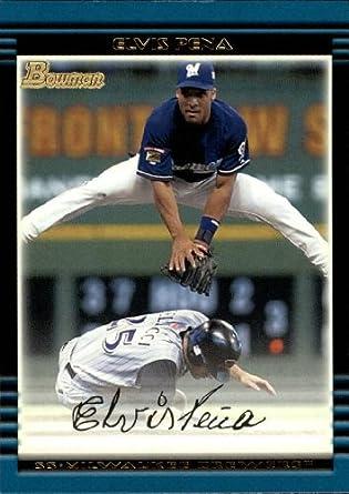 Amazoncom 2002 Bowman Baseball Card 160 Elvis Pena Collectibles