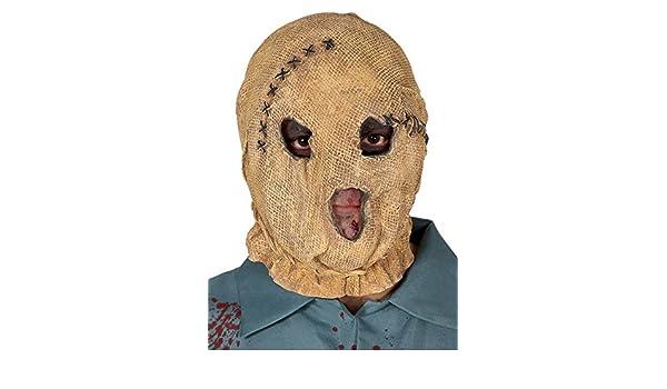 The Strangers Style Sack Cloth Espantapájaros Máscara: Amazon.es: Juguetes y juegos