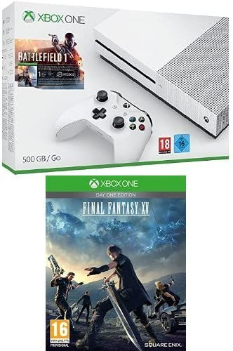Xbox One - Pack Consola S 500 GB: Battlefield 1 + Final Fantasy XV Day One Edition: Amazon.es: Videojuegos